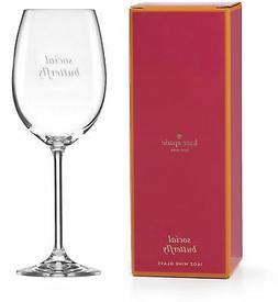 Wine Glasses 16 oz. Capacity Crystal Uncorked Social Butterf
