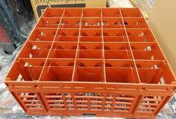 2 Pack NEW Carlisle RG25-2C414 25 Compartment Glass Dishwash