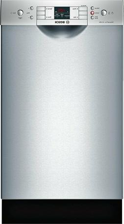 Bosch 300 Series SPE53U55UC 18 Inch Full Console Dishwasher