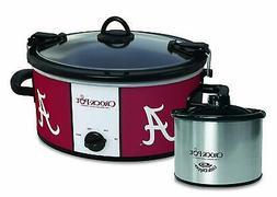 Crock Pot 6 Quart Cook & Carry Kitchen Slow Cooker Warmer, A