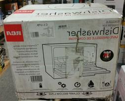 "Rca - 20"" Countertop Dishwasher - White"
