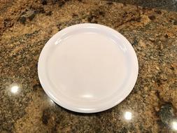"""Carlisle Dinner Plate, 9"""", Melamine White PK48, KL20002"""