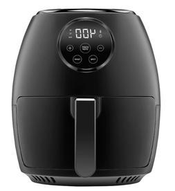 Chefman TurboFry 3.7qt Air Fryer, Touch Screen Control, Dish