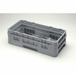 Cambro Dishwashing Base Rack w/ 1 Extender - Camrack Half Si