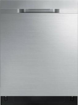 """Samsung DW80R5060US 24"""" StormWash 48-Decibel Stainless Steel"""