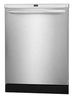 """FRIGIDAIRE FGID2466QF 24"""" Built-In Dishwasher, Stainless Ste"""