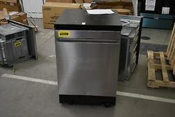 """GE GPT225SSLSS 24"""" Stainless Portable Dishwasher NOB #102645"""