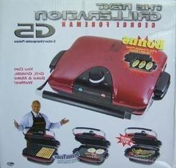 George Foreman GRP97R Next Grilleration G5 - Red - Removable