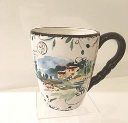 Julie Paton DASH OF THAT VILLA Coffee Mugs ~Set of 4 RARE LO