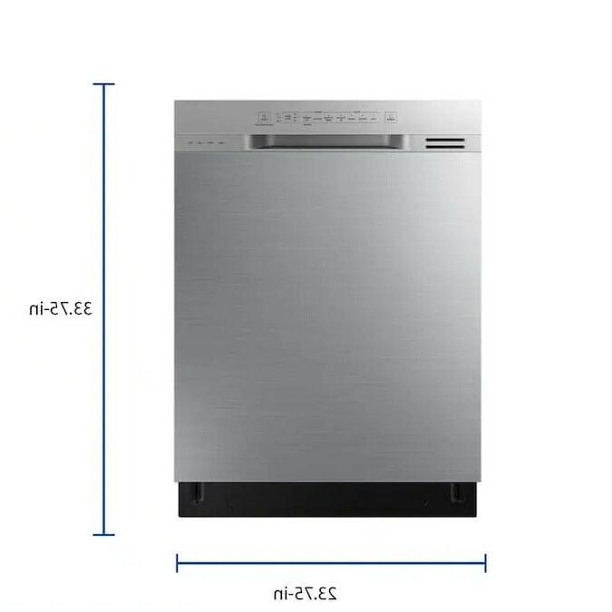 Samsung 24 Steel Front Control Dishwasher with Rack 51