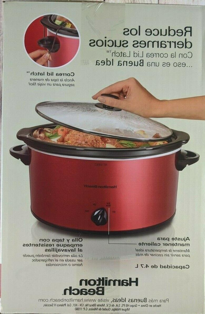 Hamilton Beach Portable Cooker Safe Brand New Unopen Box