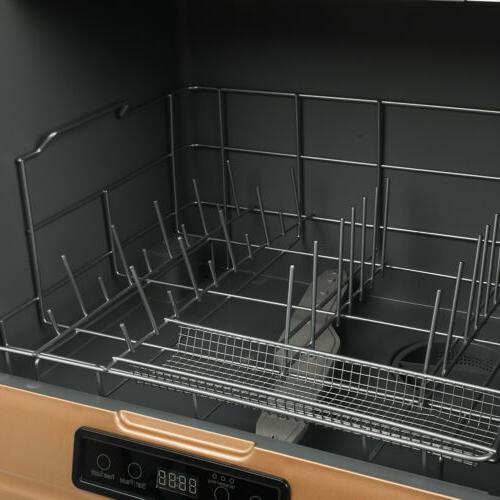9-Liter Dishwasher 360° Cleaning