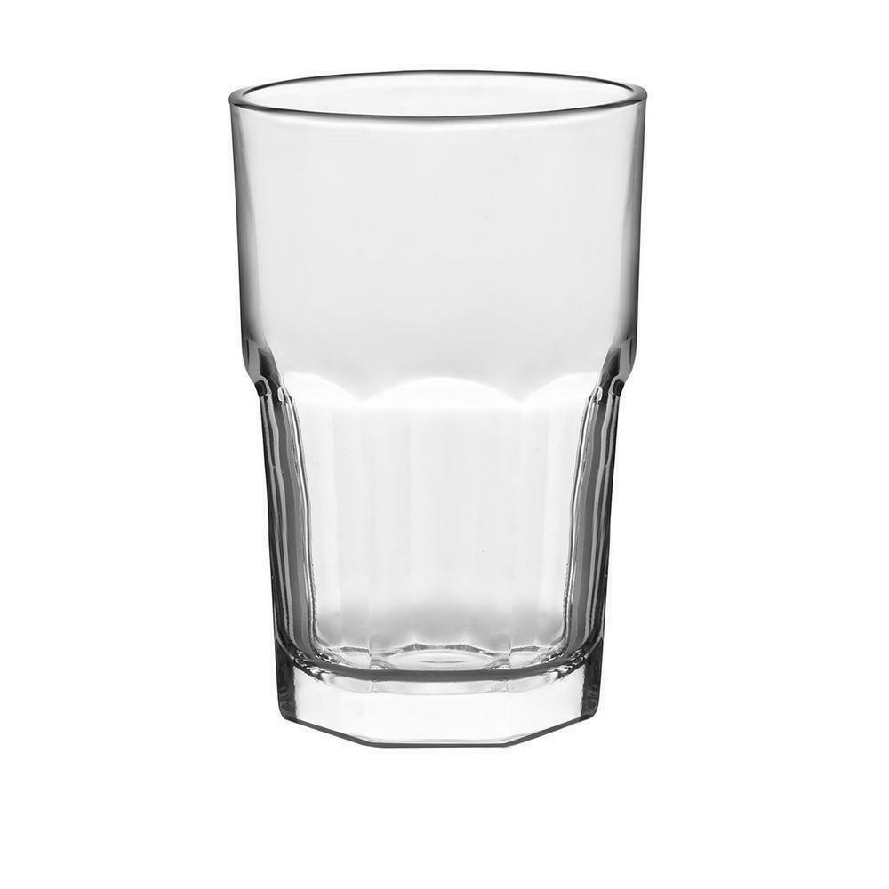 CLEAR GLASS SET Kitchen Drinkware Dishwasher Safe Water Glass