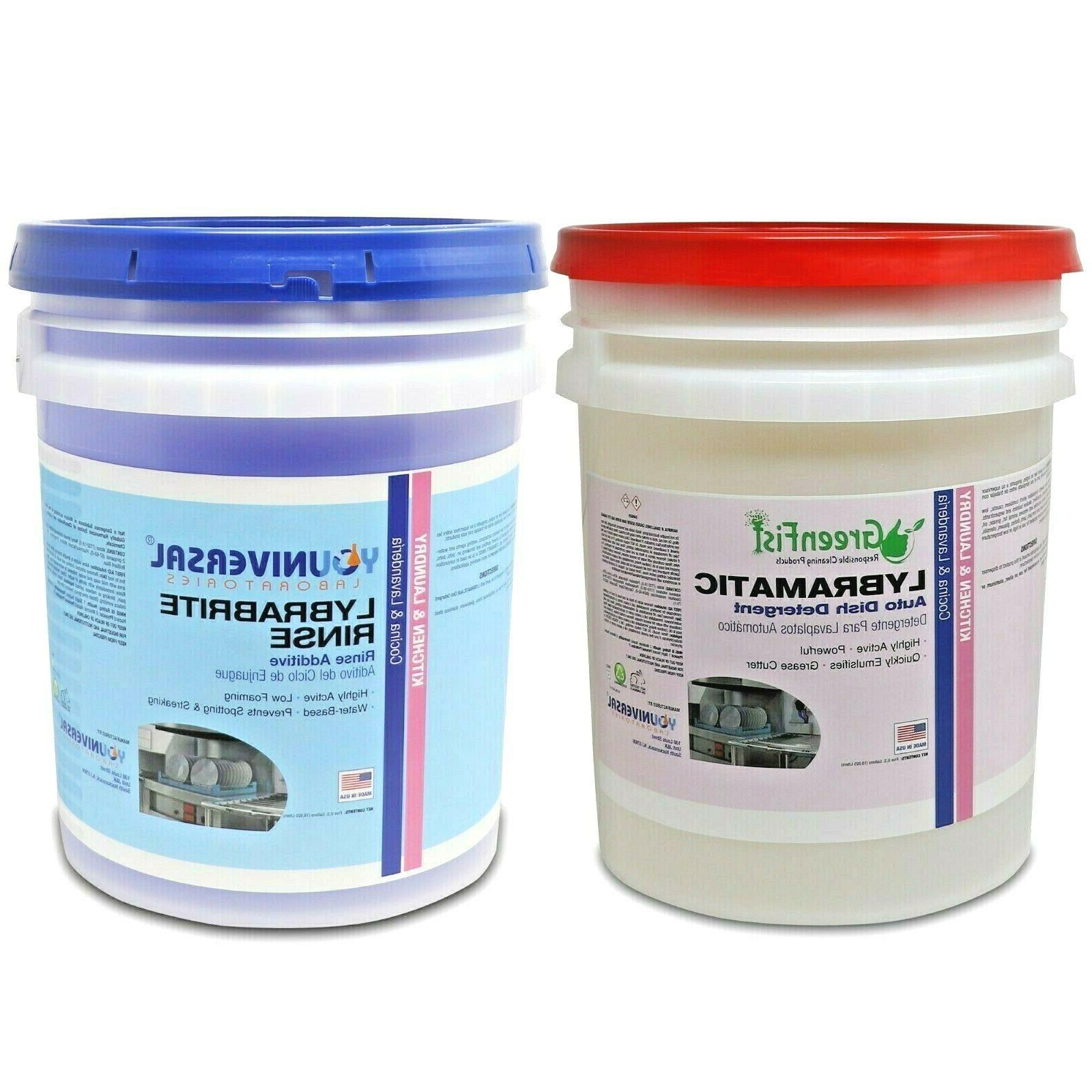 commercial dishwasher rinse aid agent with commercial