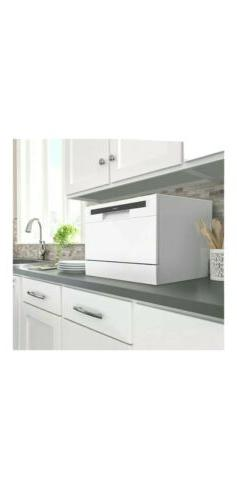 hOmeLabs Compact Countertop Dishwasher - Energy Star Portabl