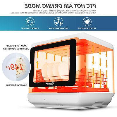 Countertop Dishwasher Air 5 1.3-Gallon Built-in