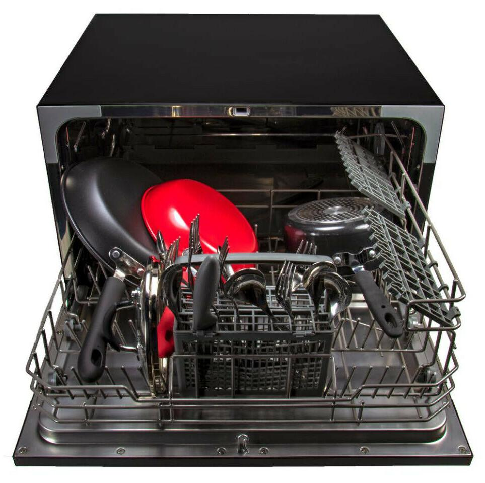 COUNTERTOP DISHWASHER Compact 6-Place Settings Steel