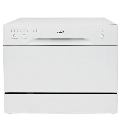 countertop dishwasher white portable compact energy star