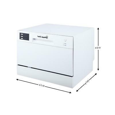 Magic Dishwasher Capacity White