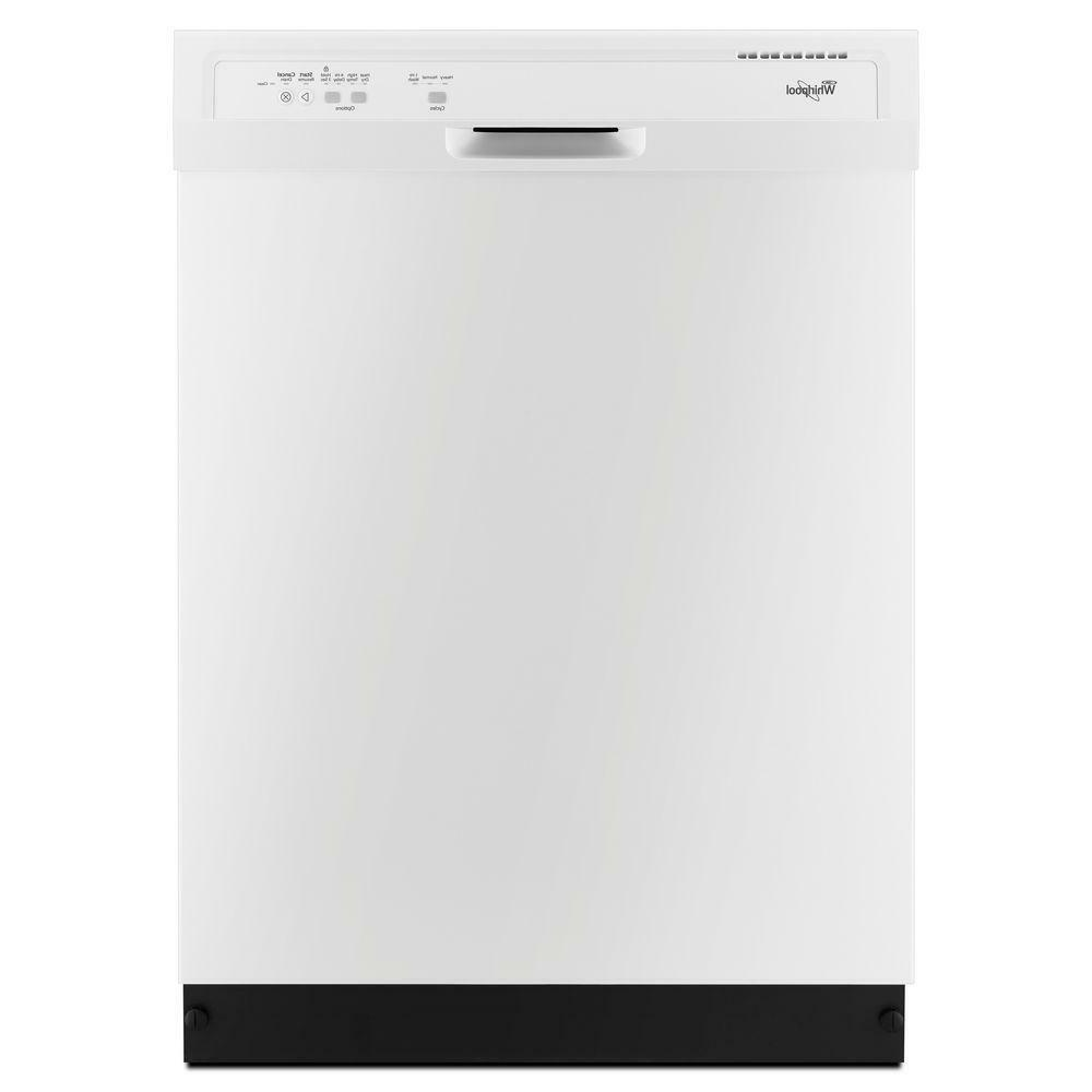 """Dishwasher Whirlpool 23.88"""" Built-In Countertop White or Bla"""