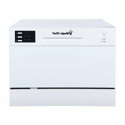 mcscd6w5 6 plate countertop dishwasher