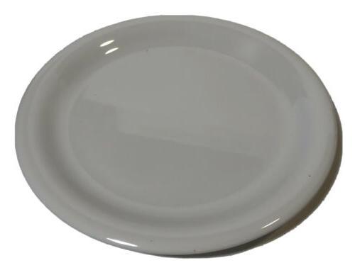 melamine salad plate narrow rim 7 25