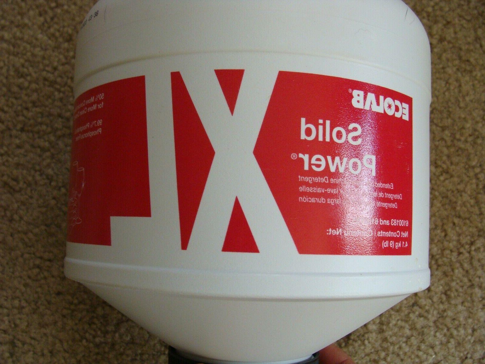 ONE Ecolab Solid XL Dishmachine Detergent