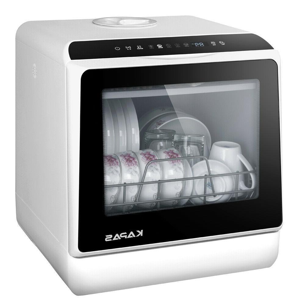 Portable Countertop Dishwasher 5 Washing Programs Built In 5 Liter
