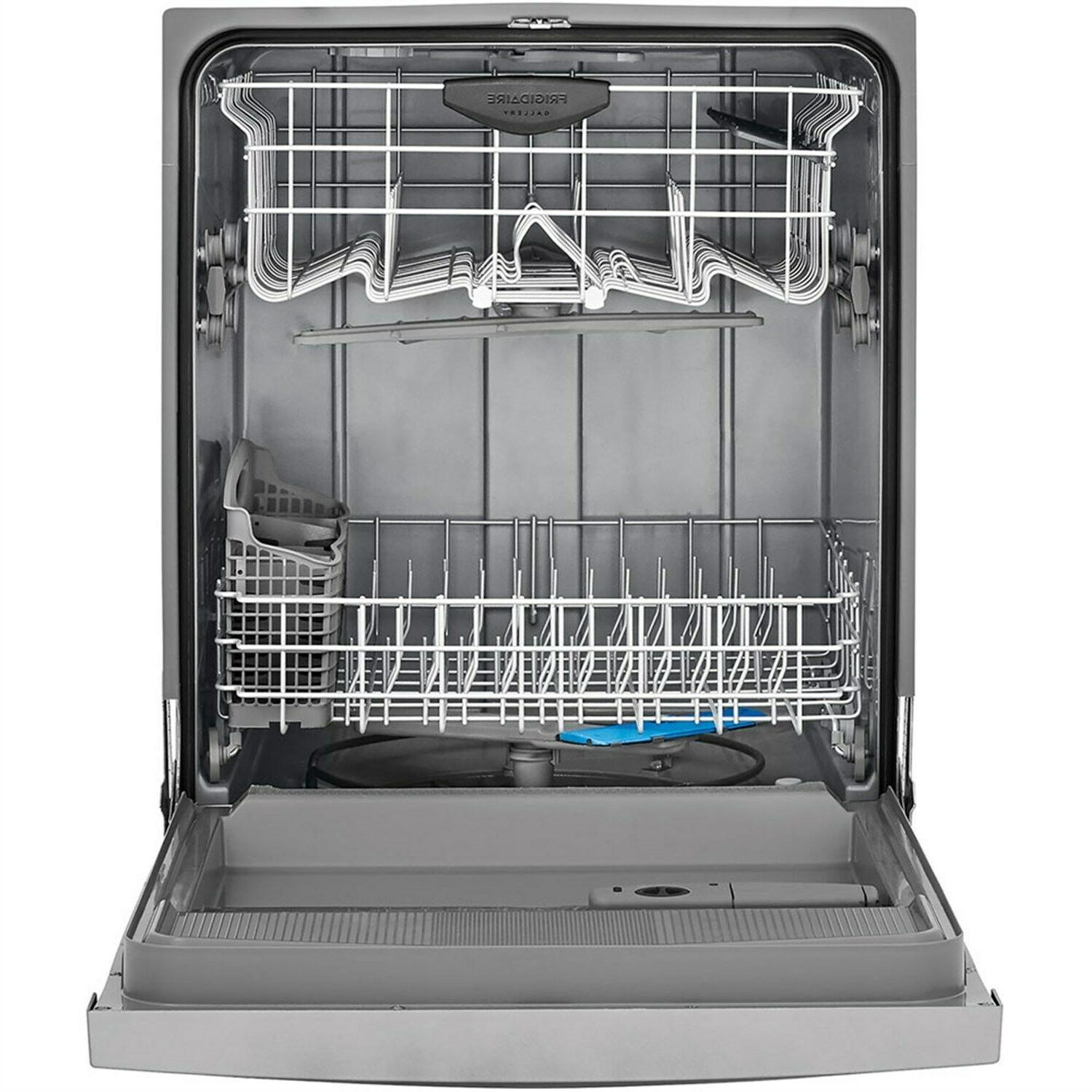 Frigidaire Stainless Built In Dishwasher, Cycles, 54