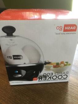 New In Box Dash Go Rapid Egg Cooker Electric Black Dishwashe