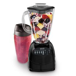 Oster Simple Blend 100 10-Speed Blender with Blend and Go Cu