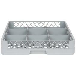 Carlisle RBC9 Dishwasher Rack Glass Compartment, 9 Compartme
