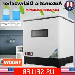 Stainless Steel Kitchen Automatic Dishwasher Compact Design