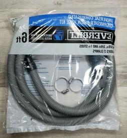 """Universal Corrugated Dishwasher Drain Hose Kit"" - Everbilt"